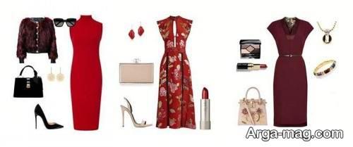 ست رنگ لباس زنانه