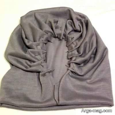 درست کردن کلاه حجاب ساده