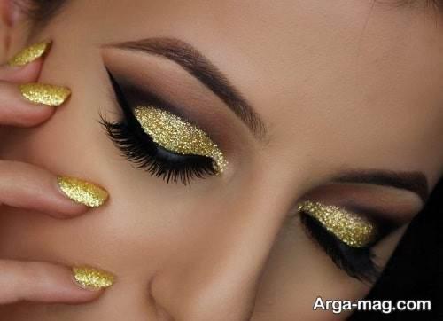 سایه چشم شاین زرد