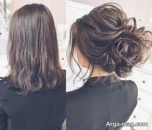آرایش موی زنانه شیک