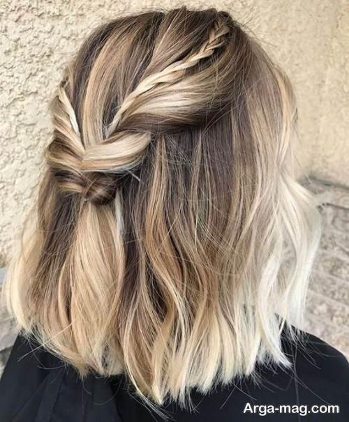 مدل آرایش موی کوتاه