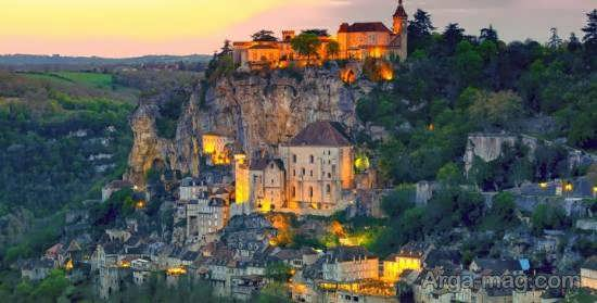 مکان های دیدنی روکامادور یکی از روستاهای معروف فرانسه