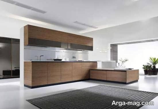 کابینت آشپزخانه ساده و مدرن