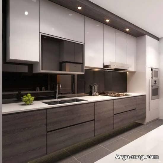 مدلی از کابینت آشپز خانه ساده