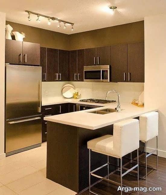 زیباترین کابینت آشپزخانه ساده