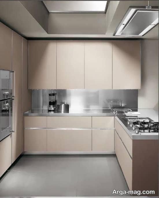 کابینت آشپز خانه ساده و زیبا