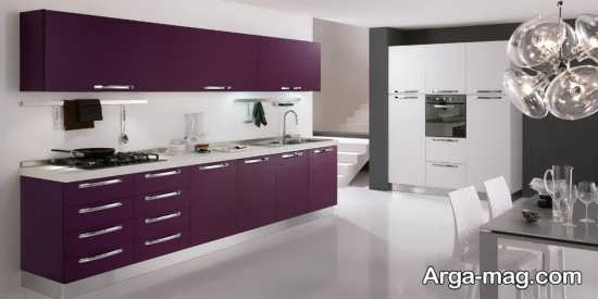 مدل کابینت آشپز خانه ساده