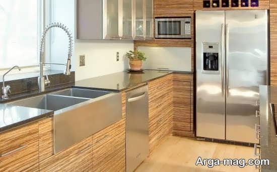 کابینت آشپز خانه ساده