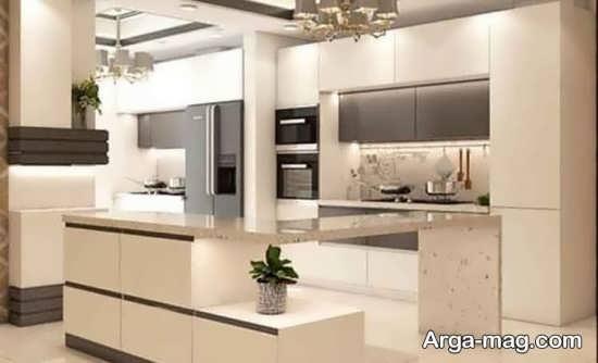 کابینتهای آشپزخانه ساده