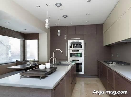 کابینتهای آشپزخانه ساده و مدرن