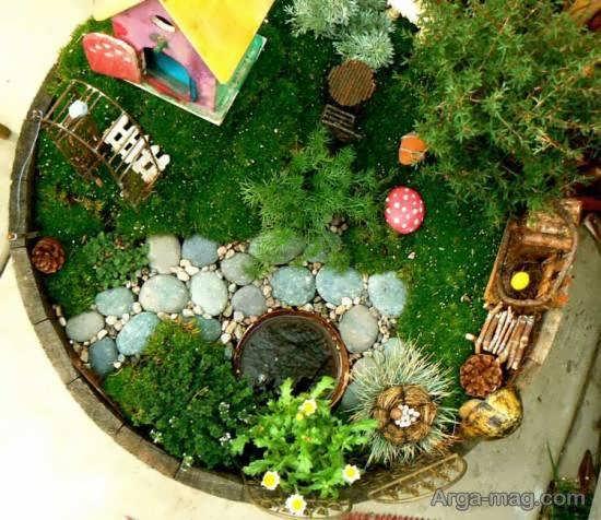 ایده هایی ناب و نفیس از الگوی باغ کوچک