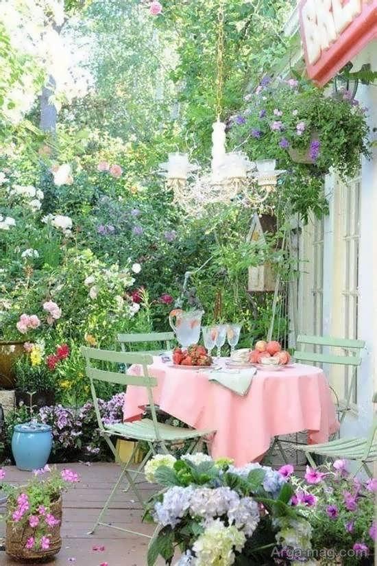 ایده های جذاب و شیک از الگوی باغ کوچک