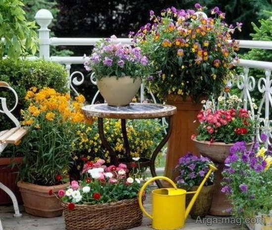 ایده هایی نفیس و جالب از طرح باغ کوچک
