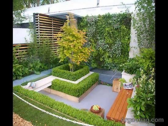 انواع نمونه های طرح باغ کوچک