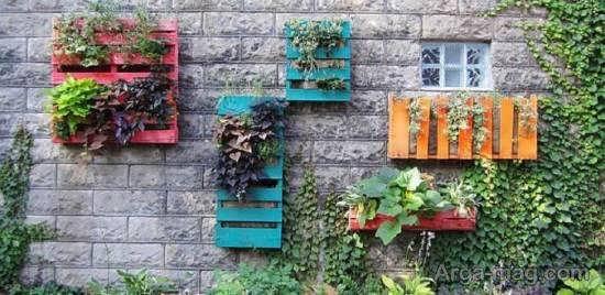 انواع نمونه های زیبا و شیک طرح باغ کوچک