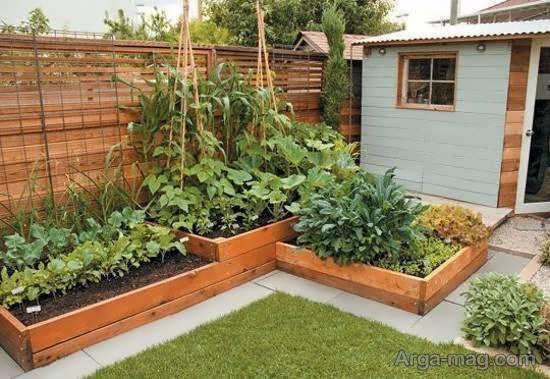 انواع نمونه های الگوهای باغ کوچک برای تقویت روحیه