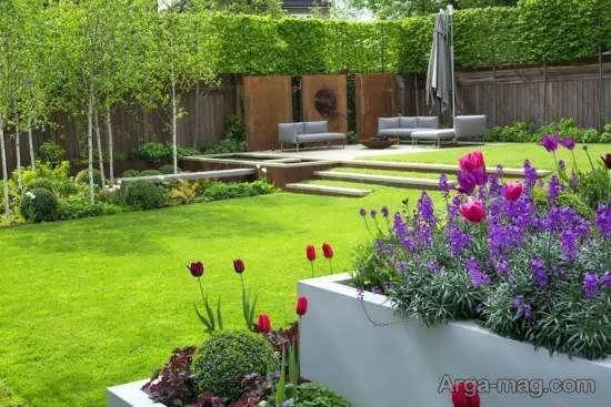 ایده هایی ناب و نفیس از طرح باغ کوچک برای سرسبزی حیاط
