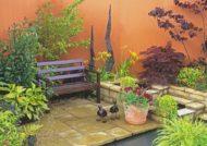 انواع طرح باغ کوچک زیبا و رمانتیک