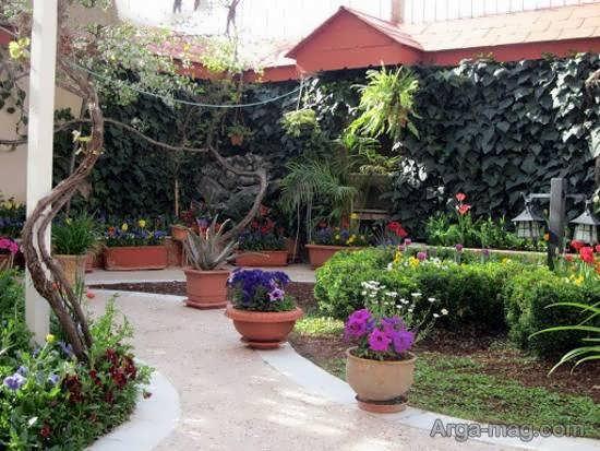 نمونه هایی شیک و جذاب از مدل باغ کوچک