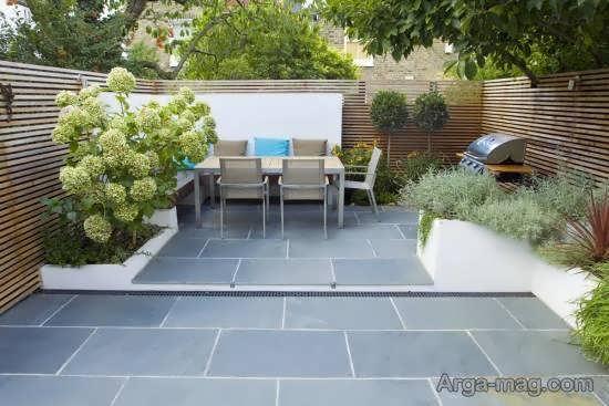 مجموعه ای فوق العاده از طرح باغ کوچک