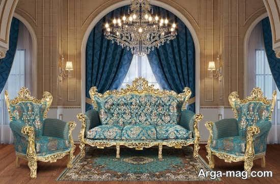 تصاویری از مبلمان سلطنتی
