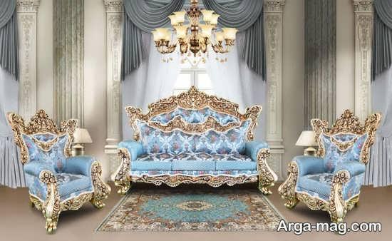 مدل طراحی مبل سلطنتی