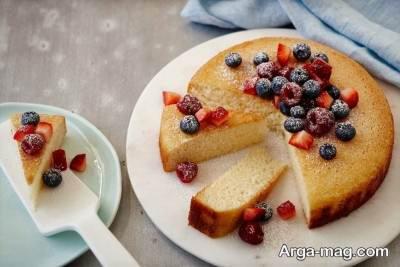 طرز تهیه کیک اسفنجی بدون استفاده از شیر