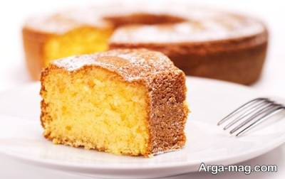 کیک اسفنجی بدون شیر
