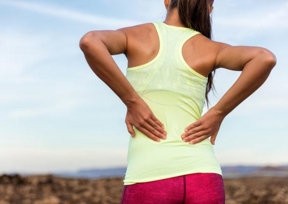 حرکات کششی برای کمر درد