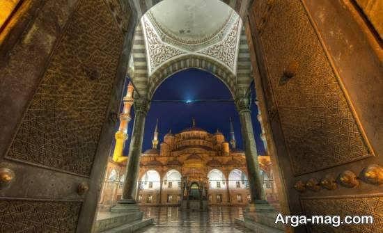 آشنایی با مکان عبادت و مذهبی سلطان احمد