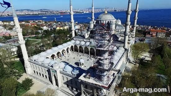 مکان پرستش و عبادت سلطان احمد در استانبول