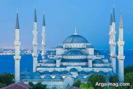 مسجد سلطان احمد واقع در شهر استانبول