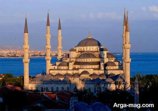 عبادتگاه سلطان احمد واقع در شهر استانبول در کشور ترکیه