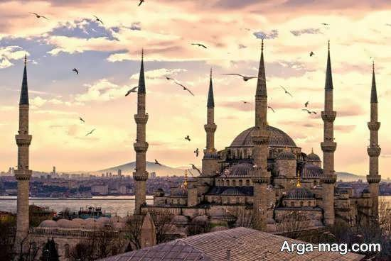 مسجد سلطان احمد یکی از دیدنی های ترکیه