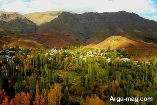 طبیعت زیبای تهران