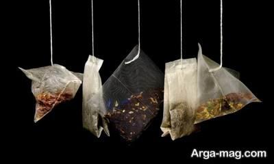 انواع چای کیسه ای مناسب برای چشم ها