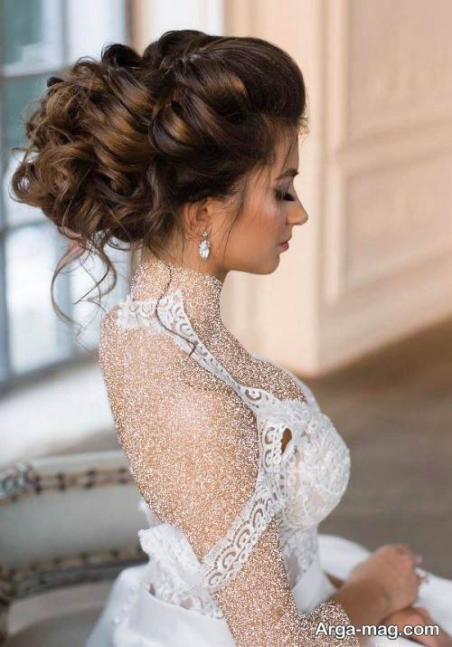 مدل شینیون شیک عروس 99