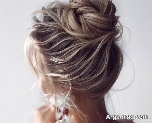 آرایش موی شیک عروس