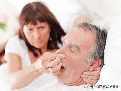 درمان خروپف و عسل