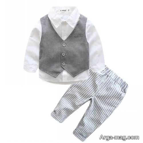 طرح لباس برای کودک زیر یکسال
