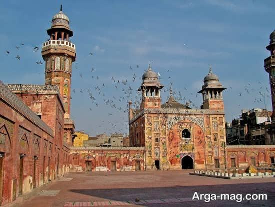 مسجد وزیر خان در لاهور پنجاب