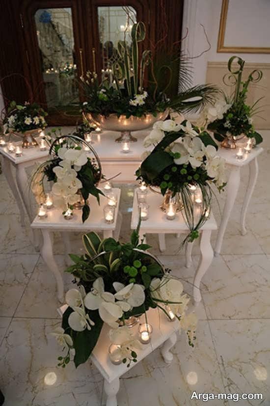 تزیینات شمع برای عروسی