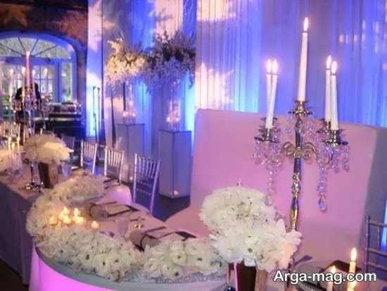 مدل تزیین شمع عروسی