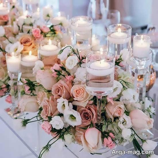 ایده تزیین شمع عروسی