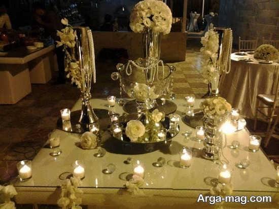 تزیین شمع عروسی