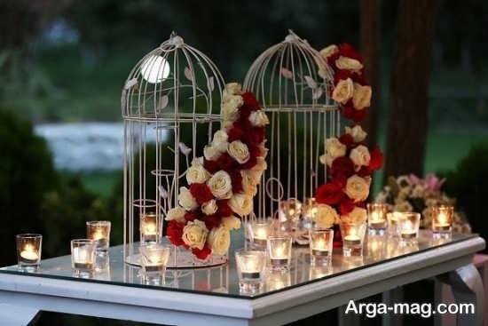 شمع آرایی جشن ازدواج