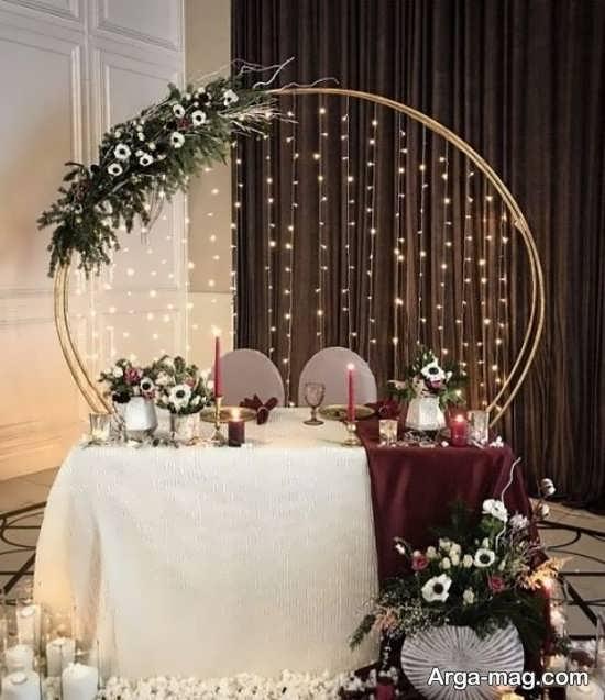 تزیینات عروسی با شمع