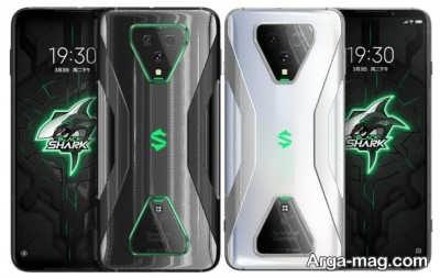 وارسی طراحی گوشی بلک شارک ۳