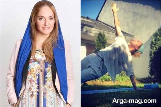 ورزش یوگای مهناز افشار