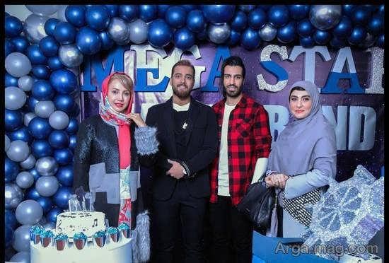 جشن تولد امیر مقاره با حضور همکارش رهام و خانم بازیگر/عکس